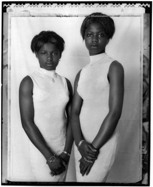 Celine van Balen Ghanese zusjes