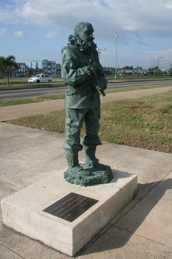 Statue of the Dutch Buccaneer Piet Hein in Matanzas, Cuba. Source: Wikimedia Commons