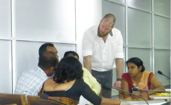 Workshop 'Managing indoor climate risks – Towards a sustainable conservation of mutual cultural heritage in Sri Lanka' (Colombo, 2015).