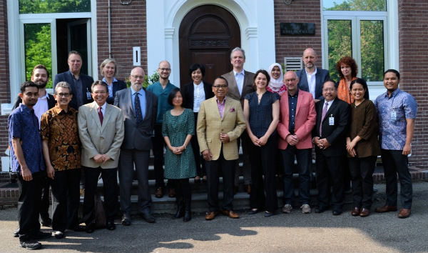 An Indonesian heritage delegation visited the Netherlands. Photo: Job Pardoel, RCE.